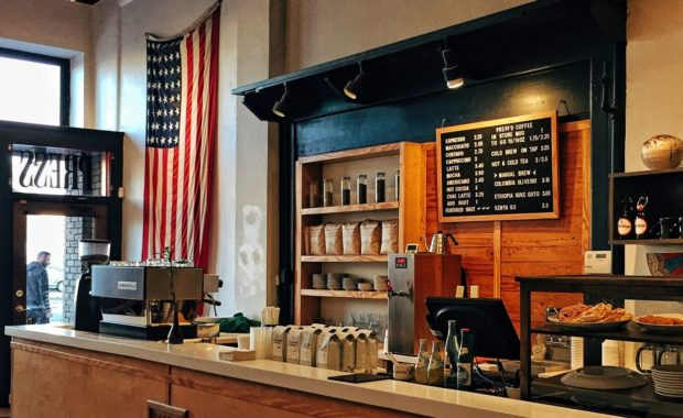 Café aux Etats-Unis